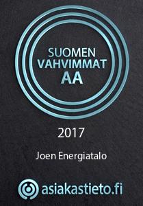 Joen Energiatalo AA luokitus